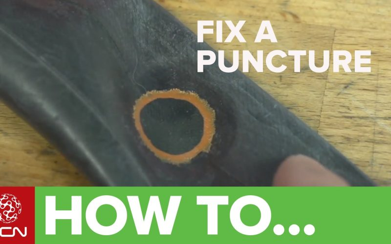How To Fix A Bike Puncture – Repairing An Inner Tube
