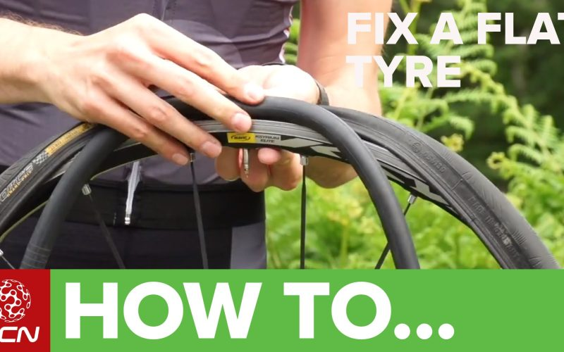 How To Fix A Flat Tyre – Fix A Road Bike Puncture