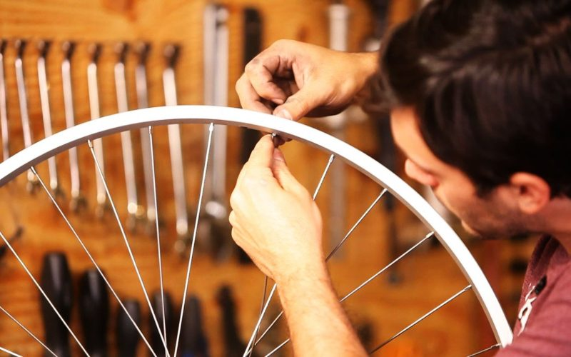 How to Replace Bike Spokes   Bicycle Repair