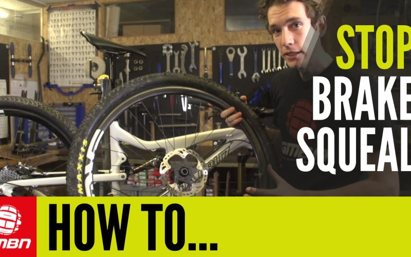 How To Stop Your Disc Brakes Squealing – Mountain Bike Maintenance Tips