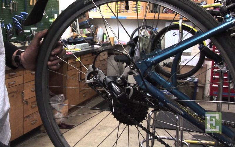 Bike Repair 1 – How to Remove and Replace a Bike Wheel