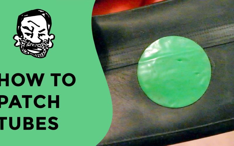 How to patch an inner tube – glueless