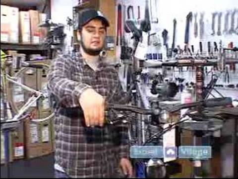 How to Fix Bicycles : How to Tighten the Brakes on a Bicycle