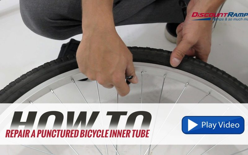 How To: Repair A Punctured Bicycle Inner Tube