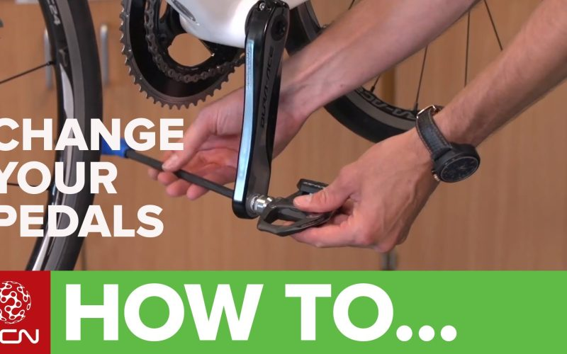How To Change Pedals – Remove And Replace Your Bicycle Pedals