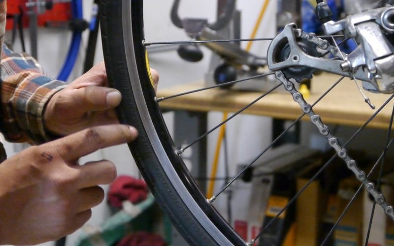 Changing the Front and Back Bicycle Inner Tube