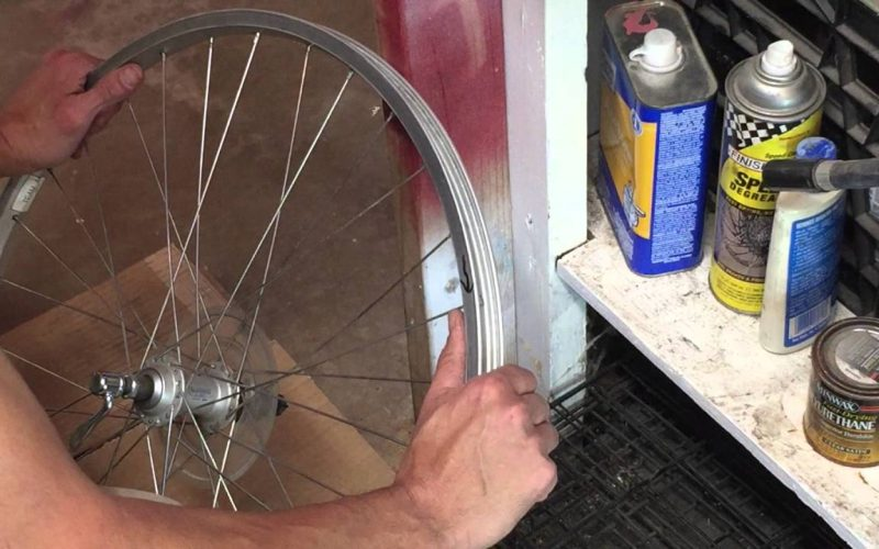 How to true a bent or tacoed bicycle wheel