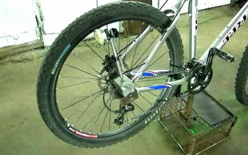 Truing a Bent Bicycle Wheel