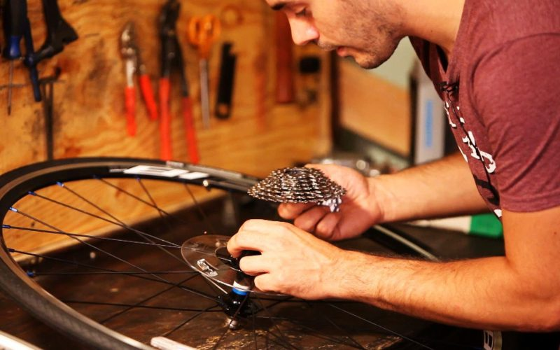 How to Adjust a Bike Cassette   Bicycle Repair