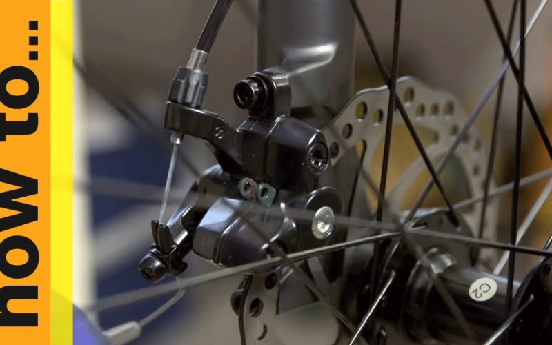 How To… Adjust Mechanical Disc Brakes